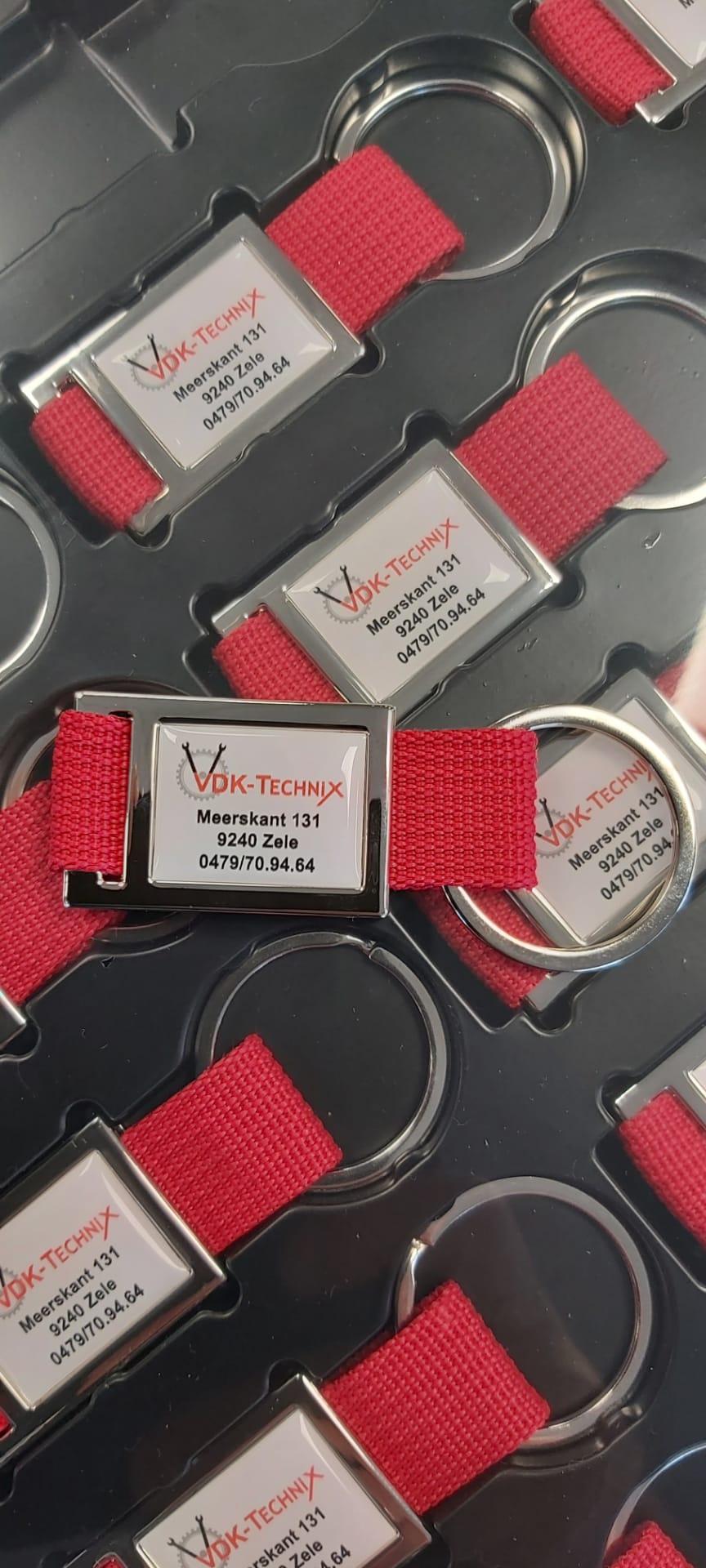 sleutelhanger VDK Technix