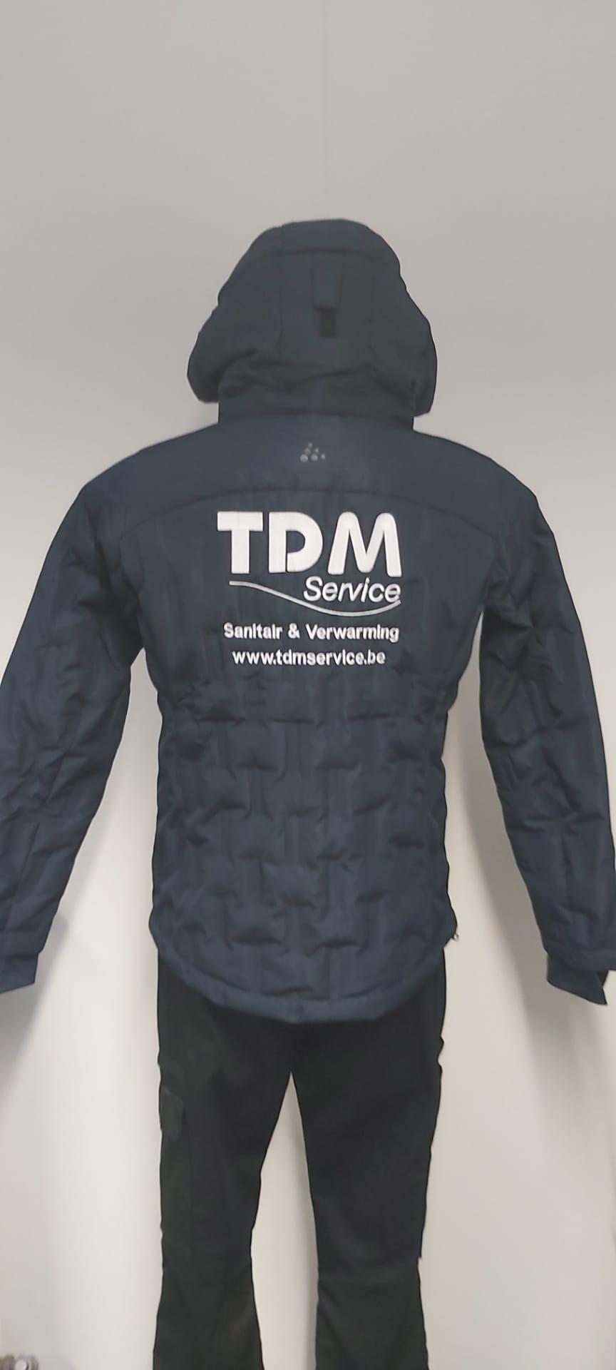 geborduurd logo TDM Service
