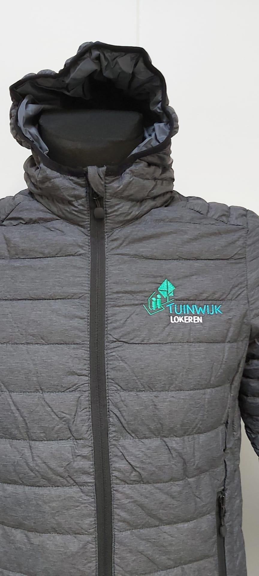 geborduurd logo Tuinwijk Lokeren