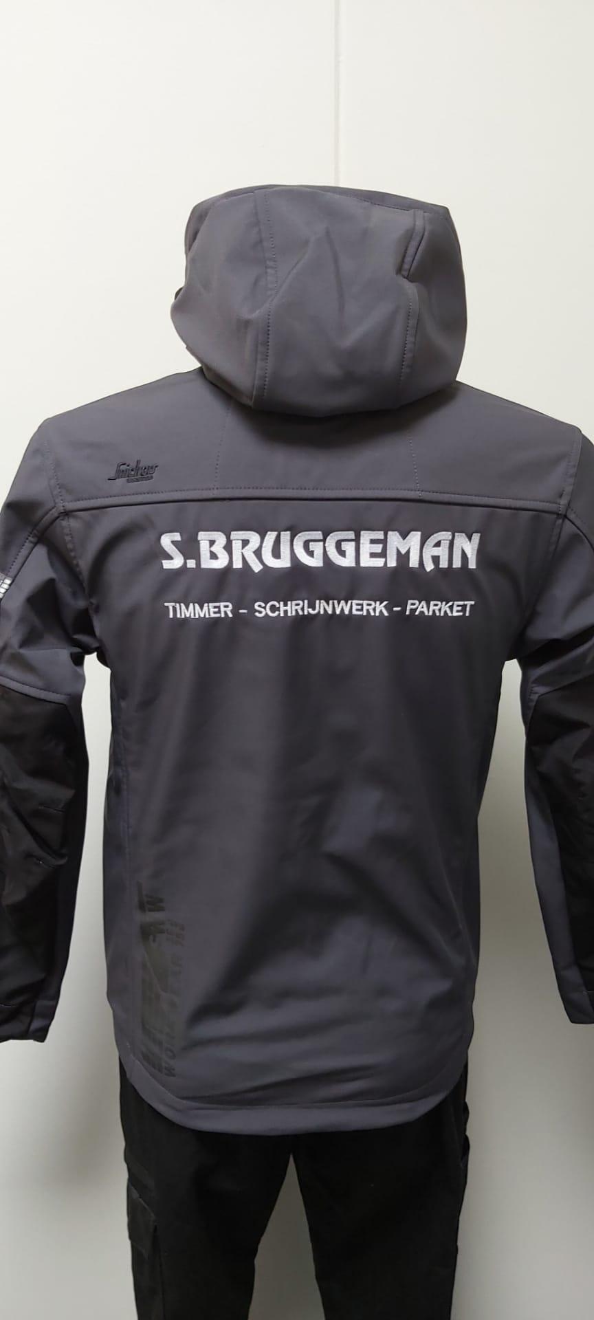 geborduurd logo Bruggeman