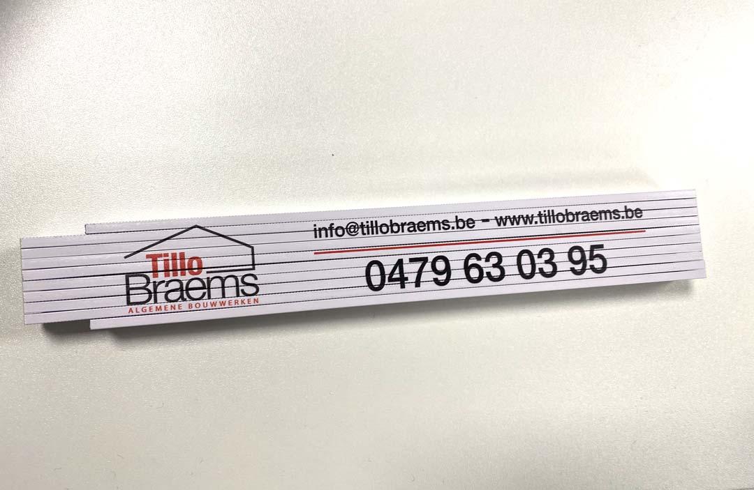 vouwmeter Tillo Braems