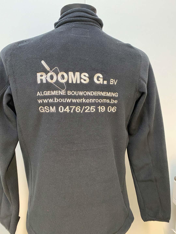 geborduurd logo Rooms