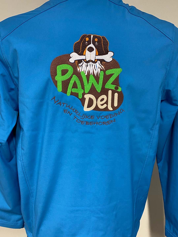 geborduurd logo Pawz Deli