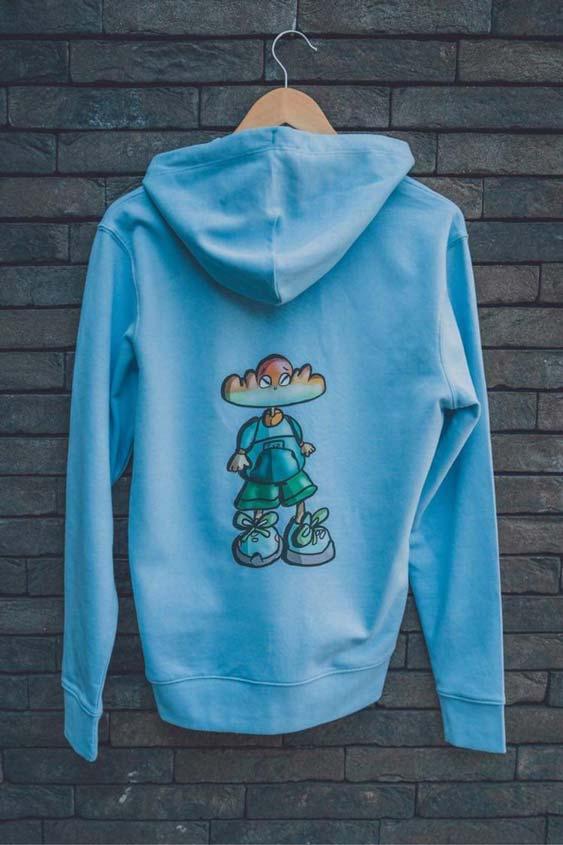 meerkleurendruk sweater 1
